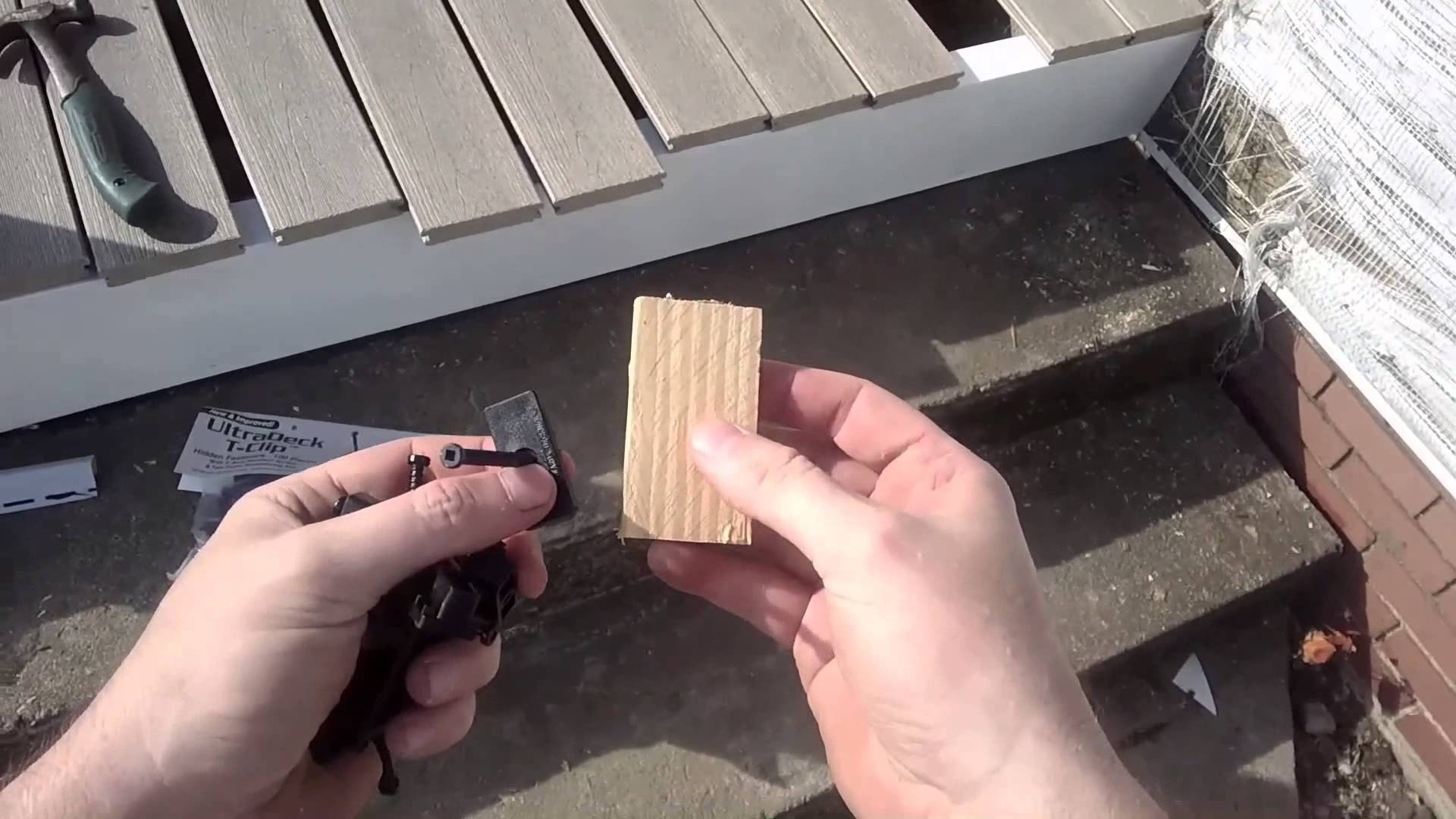Composite Decking Joists | Using Composite Decking | Installing Composite Decking