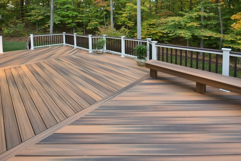 Decks Installing Composite Decking For Best Lock Your