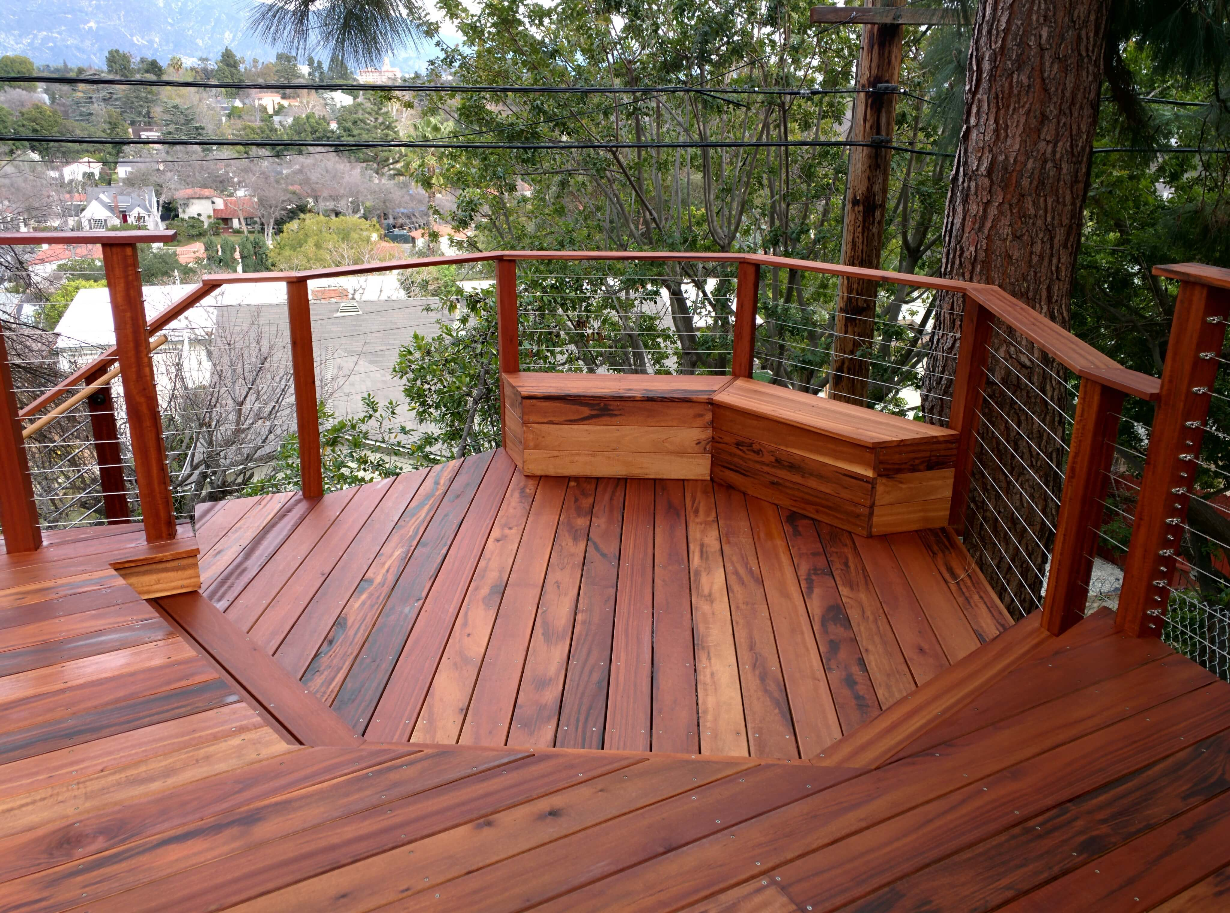 Composite Material for Decks | Deck Board Options | Tigerwood Decking