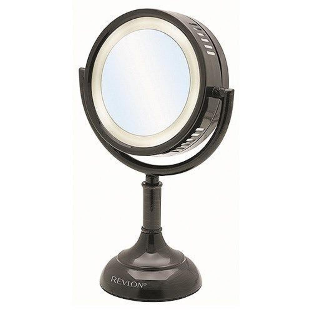 Conair Lighted Makeup Mirror | Conair Illuminated Touch Mirror | Battery Operated Makeup Mirror