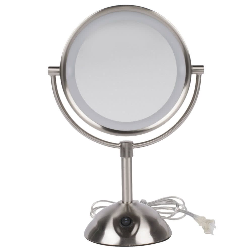 Conair Lighted Makeup Mirror | Conair Oval Oiled Bronze Double Sided Illuminated Mirror | Conair Illuminated Mirror