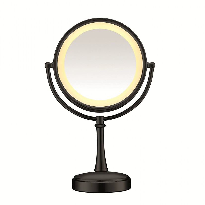 Conair Lighted Makeup Mirror | Conair Two Sided Makeup Mirror With 4 Light Settings | Lighted Mirror Walmart