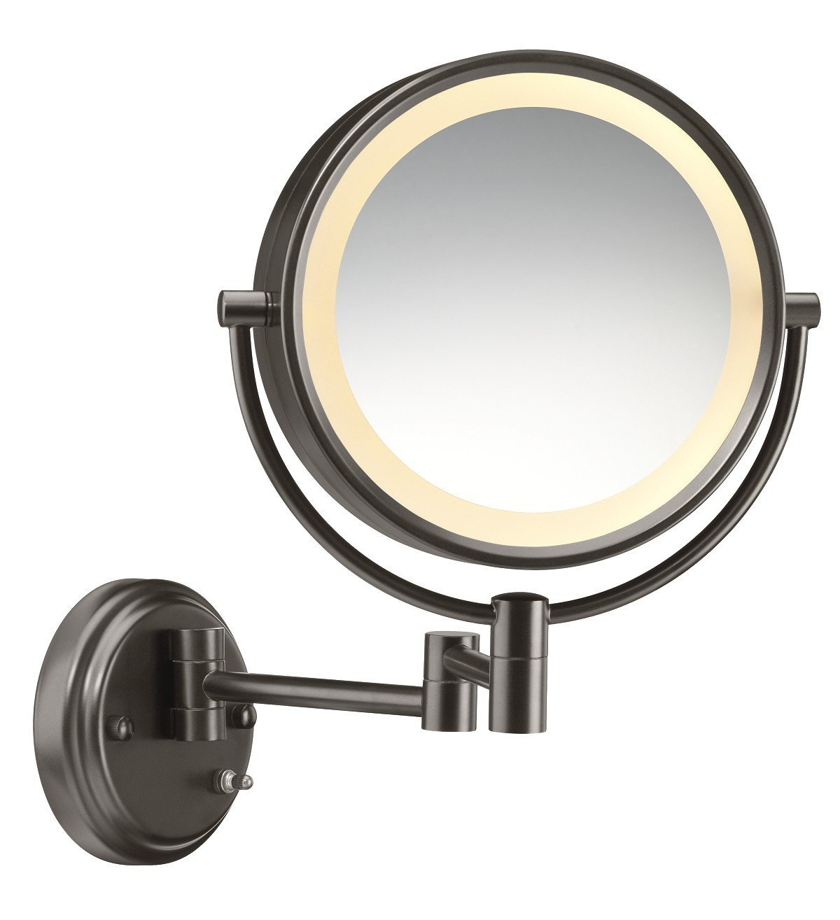 Conair Oval Lighted Mirror | Lighted Makeup Mirrors Walmart | Conair Lighted Makeup Mirror