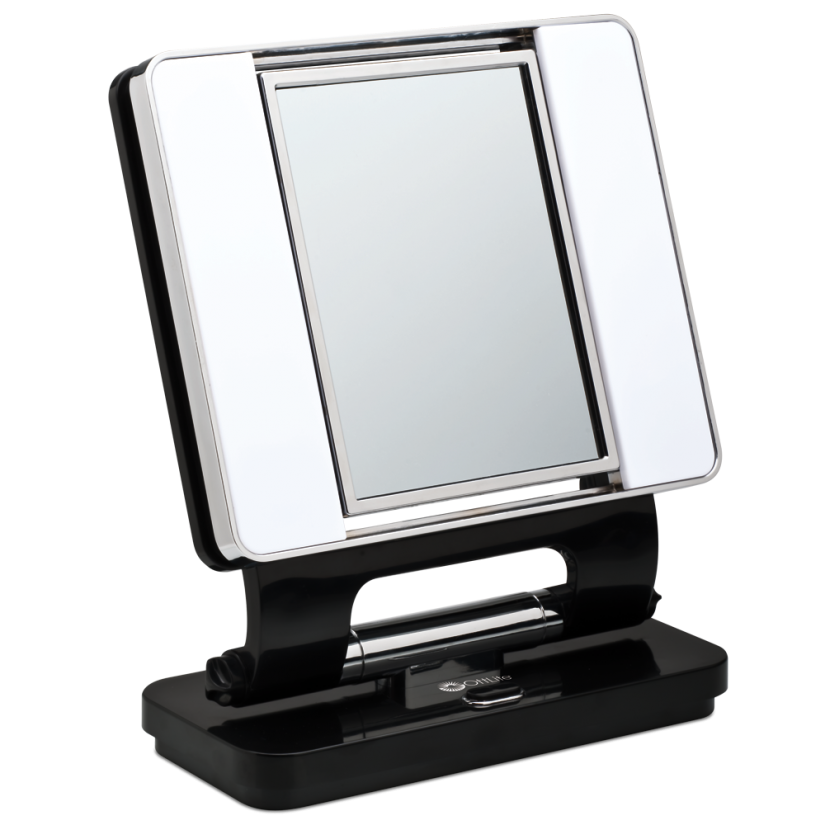 Conair Two Sided Makeup Mirror With 4 Light Settings | Conair Lighted Makeup Mirror | Lighted Makeup
