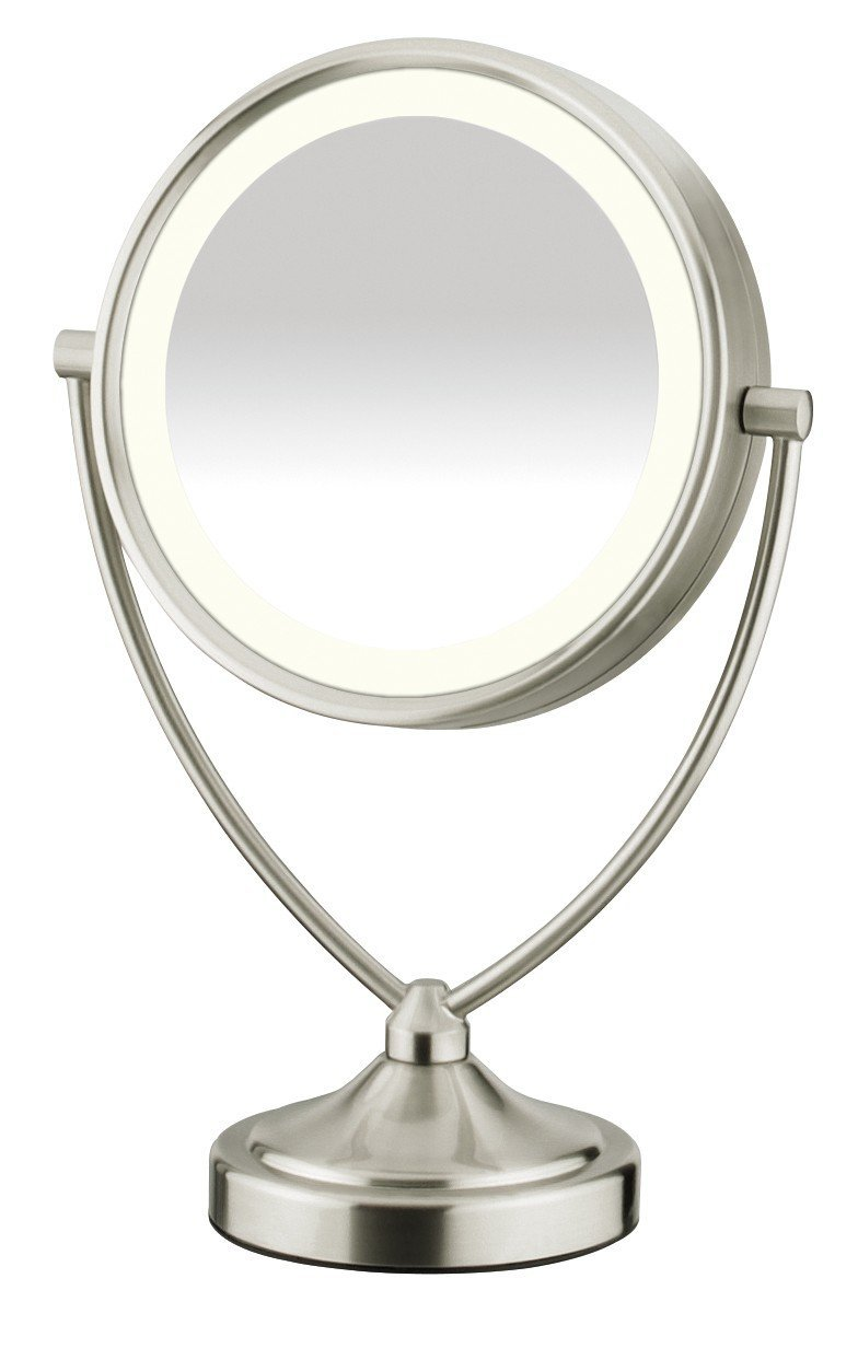 Cordless Lighted Makeup Mirror | Conair Lighted Makeup Mirror | Conair Double Sided Lighted Makeup Mirror
