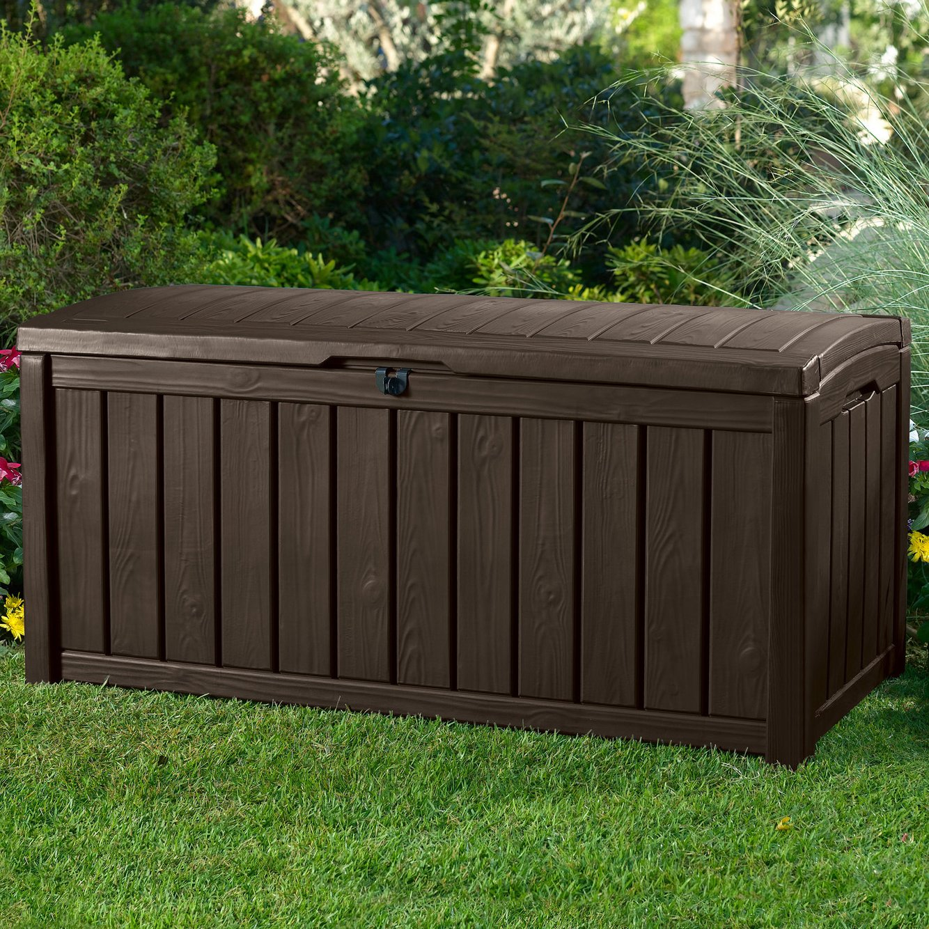 Costco Outdoor Storage | Keter 150 Gallon Deck Box | Keter Deck Box