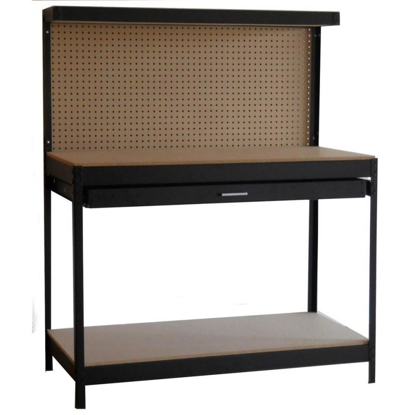 Costco Workbench On Wheels | Workbenches For Garages | Metal Workbench