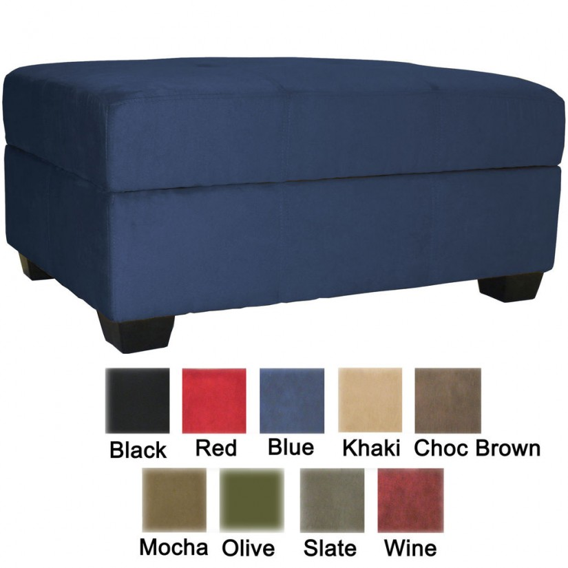 Cube Ottomans | Upholstered Storage Ottoman Coffee Table | Storage Cube Ottoman