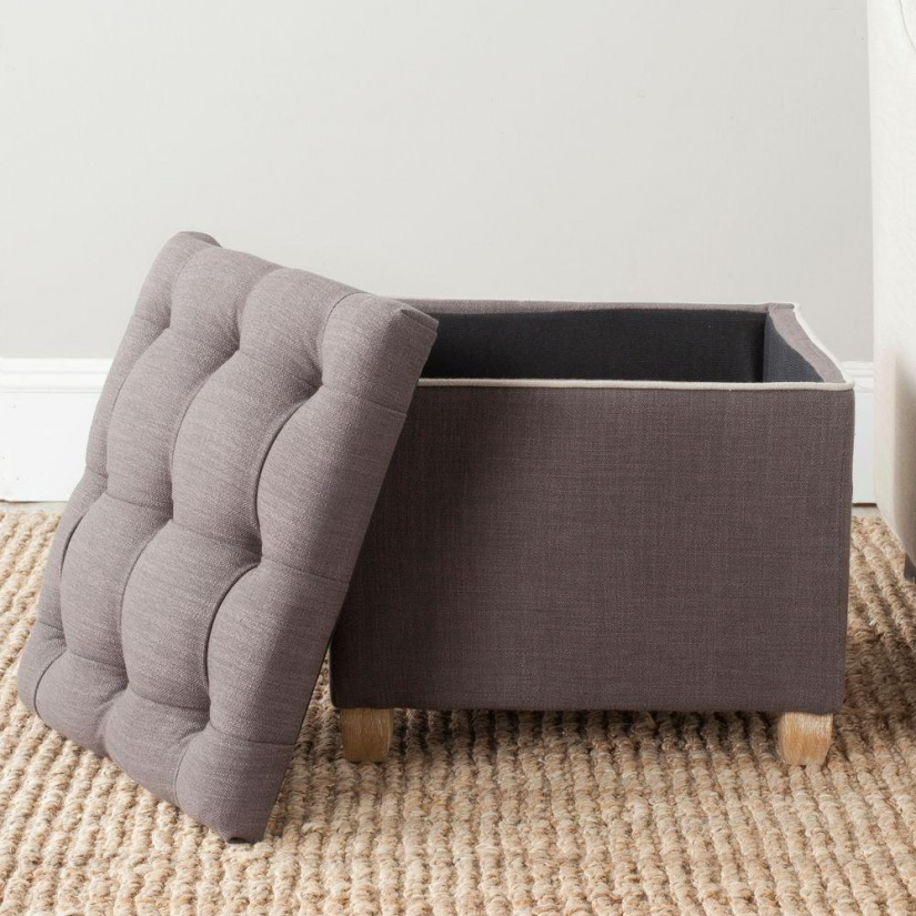 Cube Storage Ottoman With Tray | Storage Cube Ottoman | Storage Seating Cubes