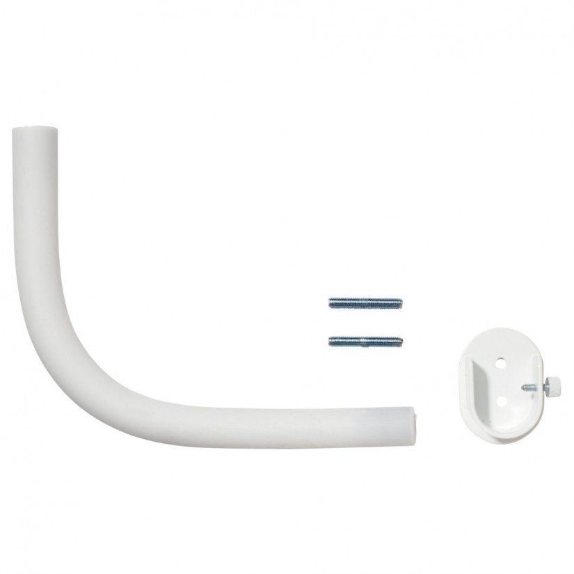Curtain Rod Brackets Lowes | Lowes Curtain Rods Wood | Curtain Rod Corner Connector