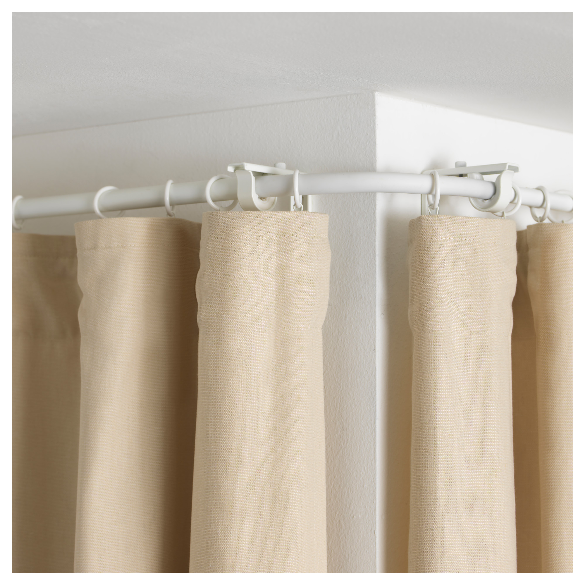 Curtain Rod Corner Connector | Angled Curtain Rod | Lowes Drapery Hardware