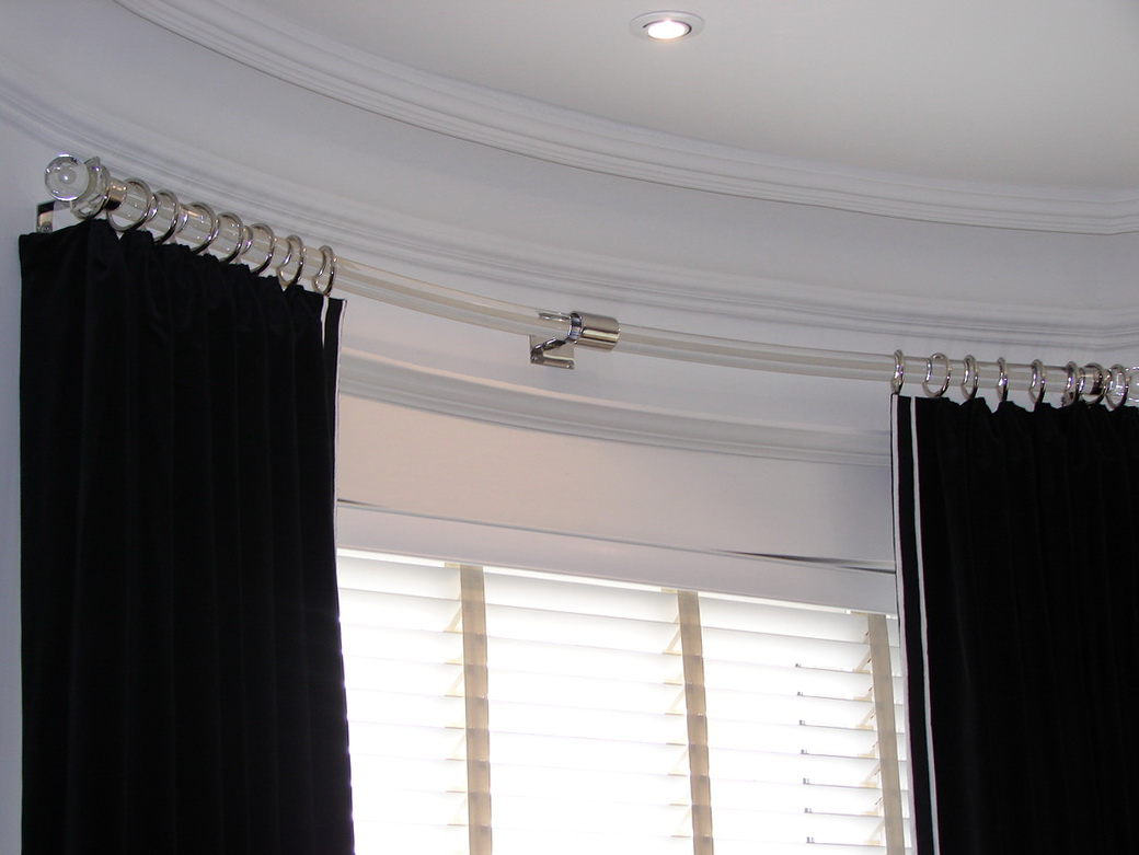 Curtain Rod Corner Connector | Curtain Holders | Lowes Curtain Track