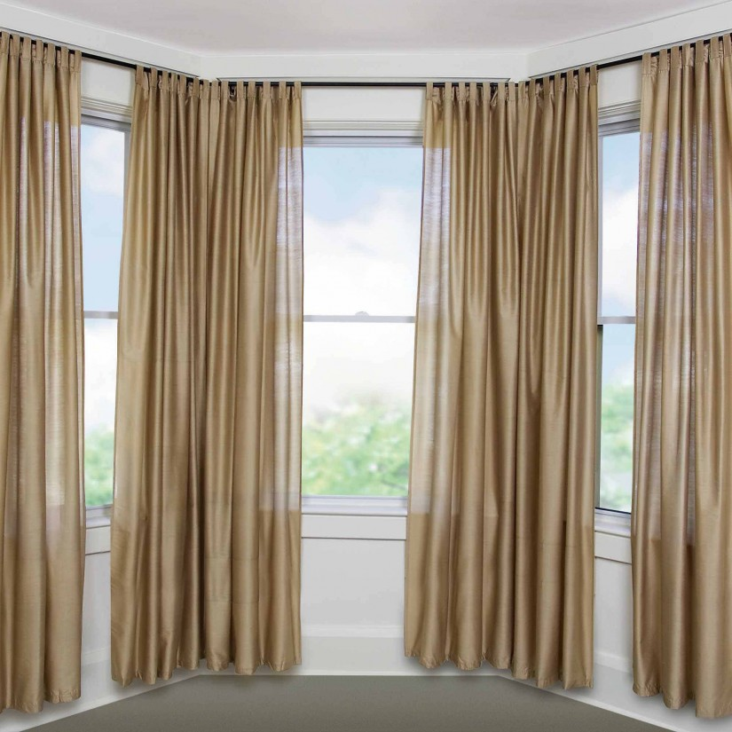 Curtain Rod Corner Connector | Ikea Curtain Rods | Double Curtain Rod Set Lowes