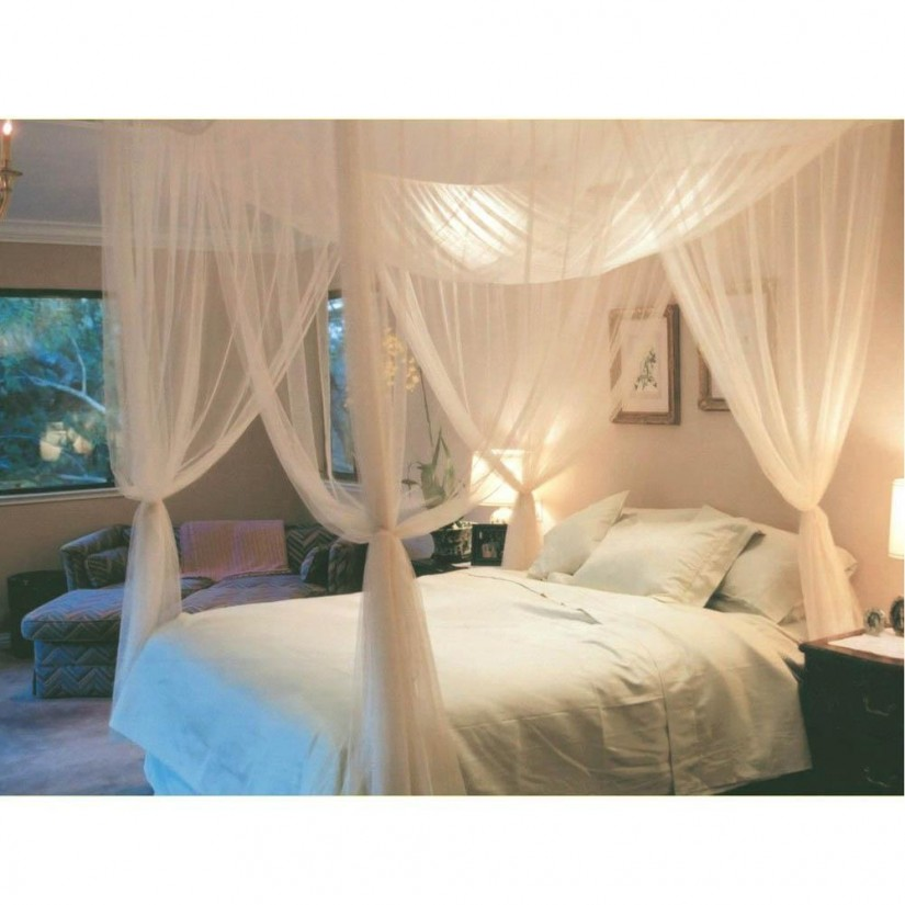 Curtain Rods For Canopy Bed | Purple Canopy Bed Curtains | Canopy Bed Curtains