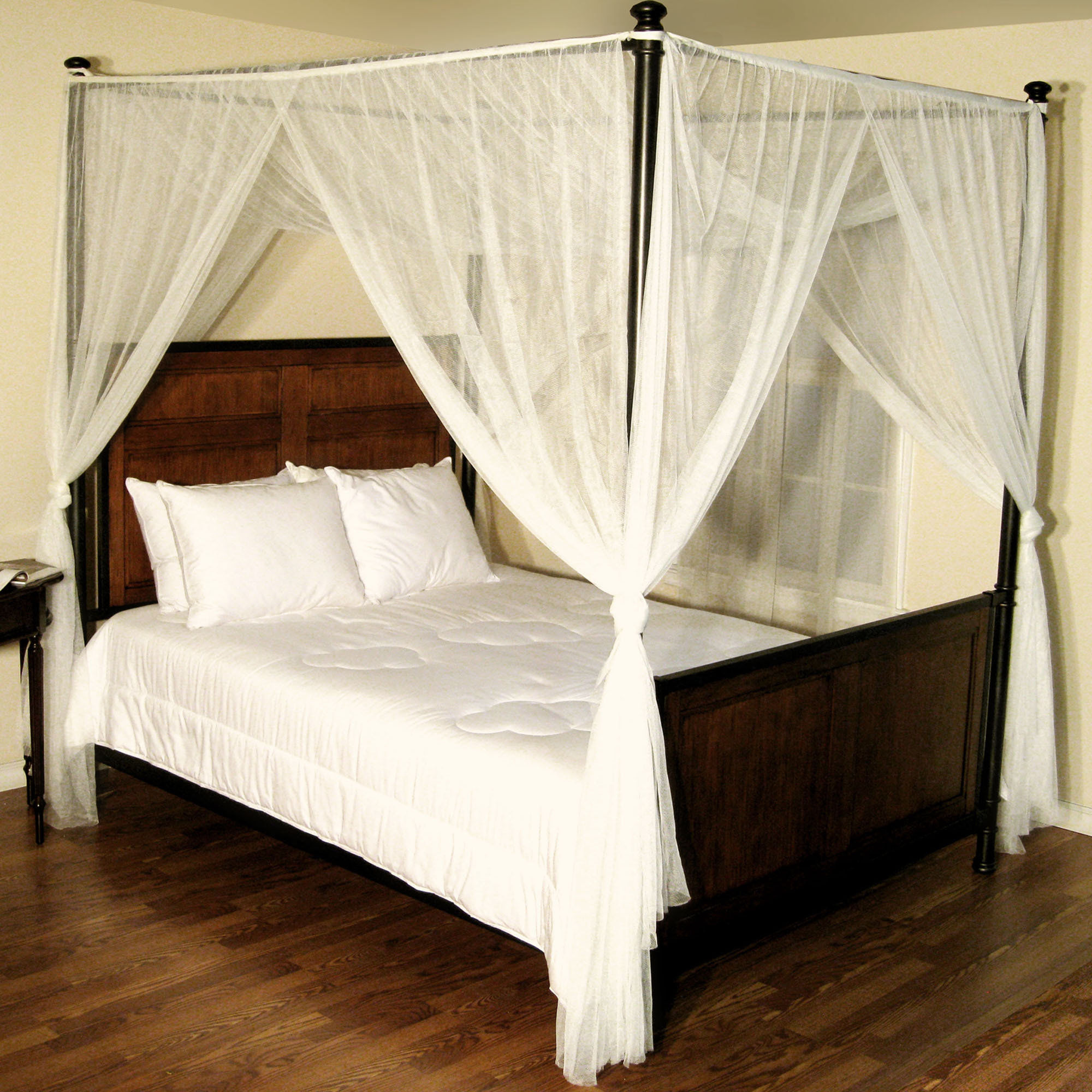 Curtains Canopy Bed For