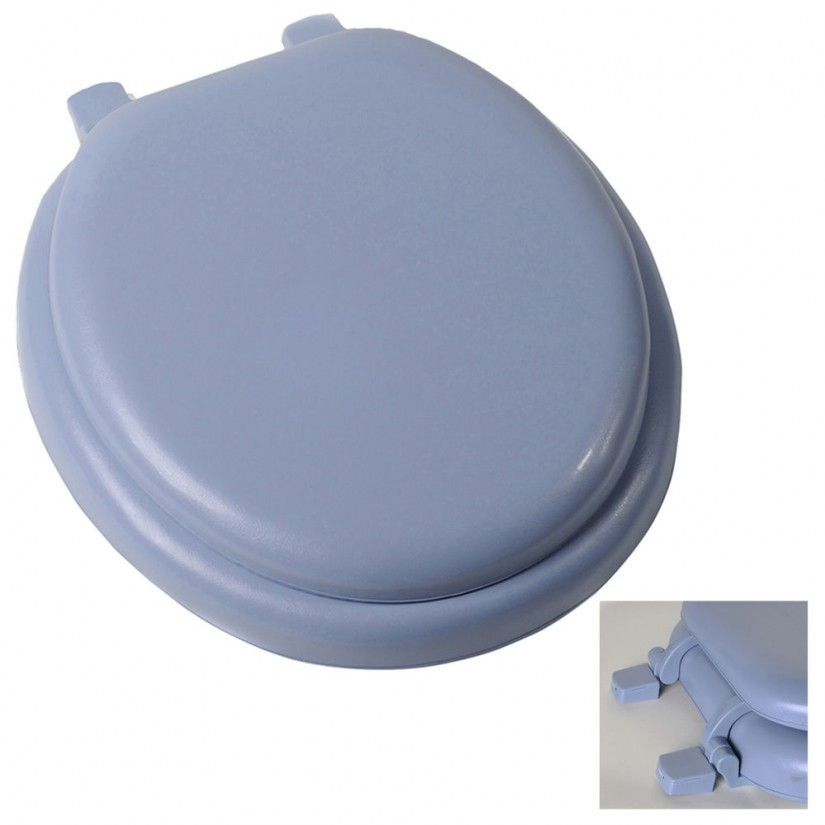 Cushioned Toilet Seats | Elongated Padded Toilet Seat | Elevated Toilet Seat Lowes