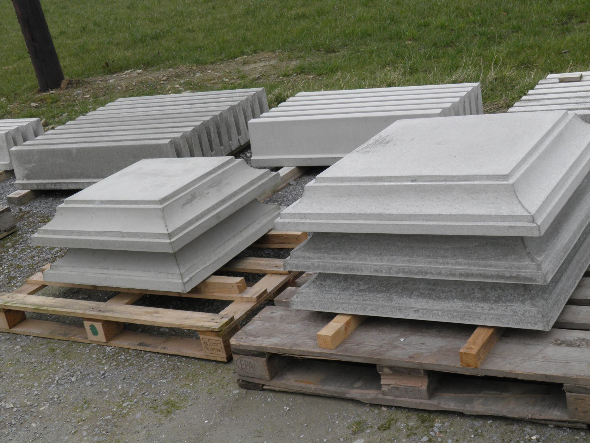 Deck Pier Blocks | Precast Concrete Piers | Precast Deck Footings