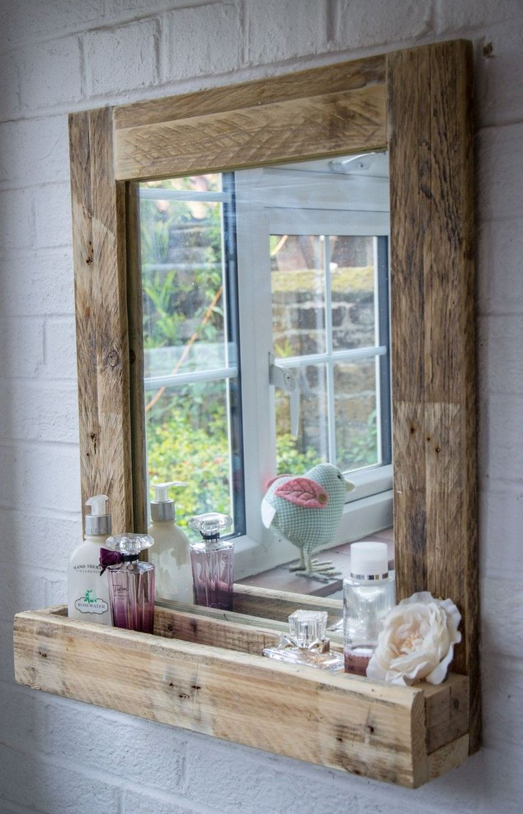 Distressed Wall Mirror | Mirror Costco | Reclaimed Wood Mirror