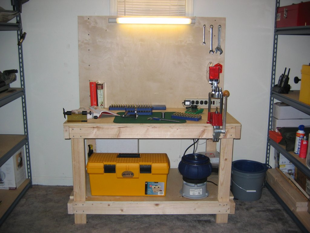 Diy Reloading Bench Plans | Hornady Reloading Bench | Reloading Benches
