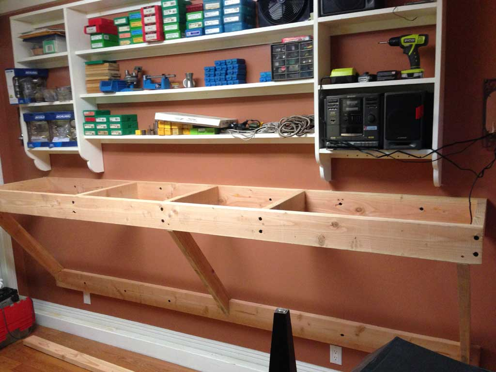 Diy Reloading Bench Plans | Reloading Table Ideas | Reloading Benches