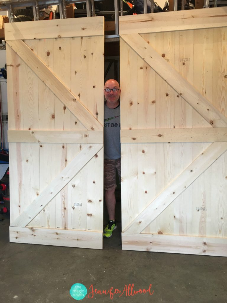 Double Barn Door Track | Bypass Barn Doors | Bypass Sliding Barn Door Hardware
