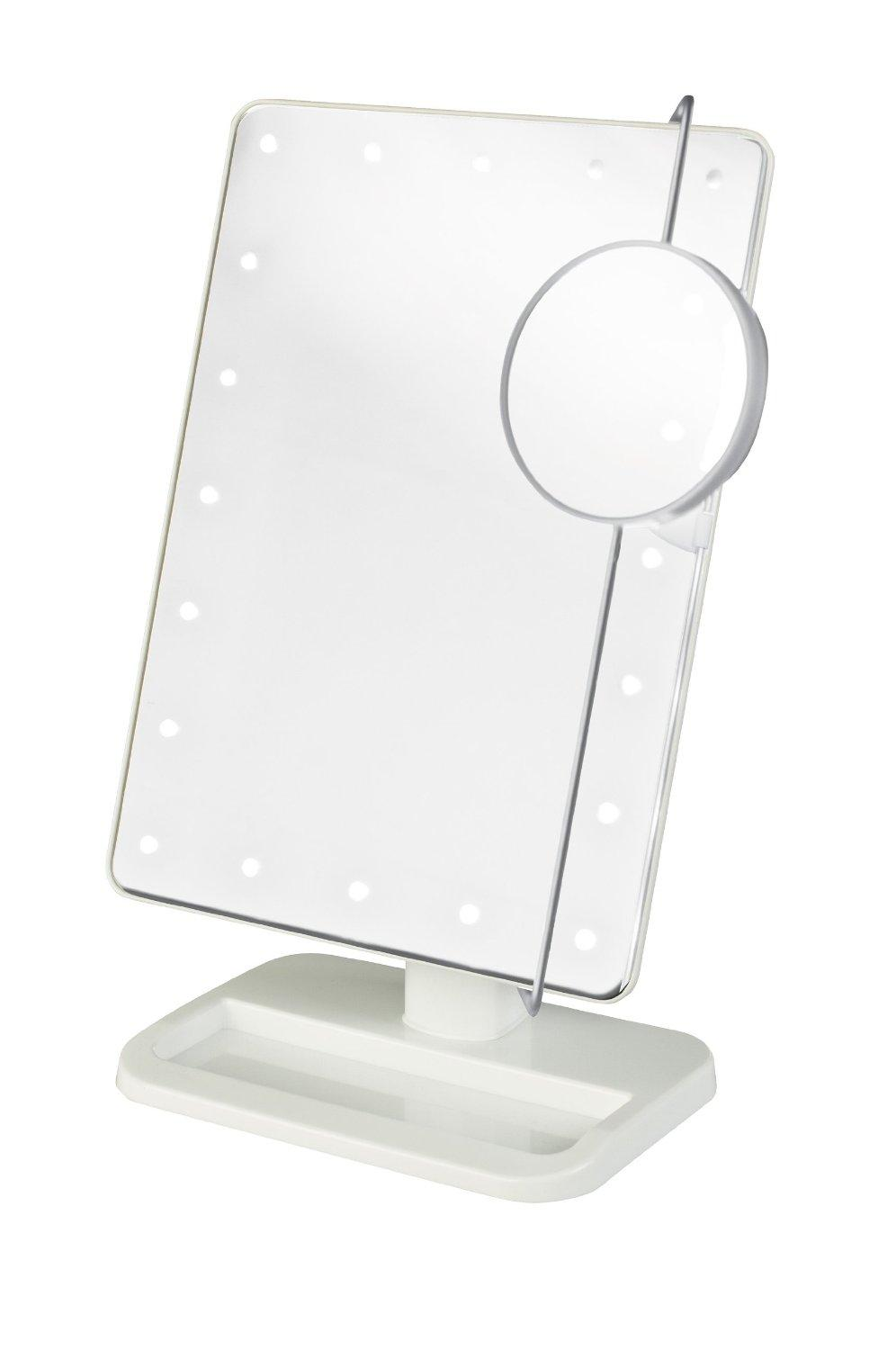 Double Sided Lighted Mirror | Conair Lighted Makeup Mirror | Conair Mirror Light