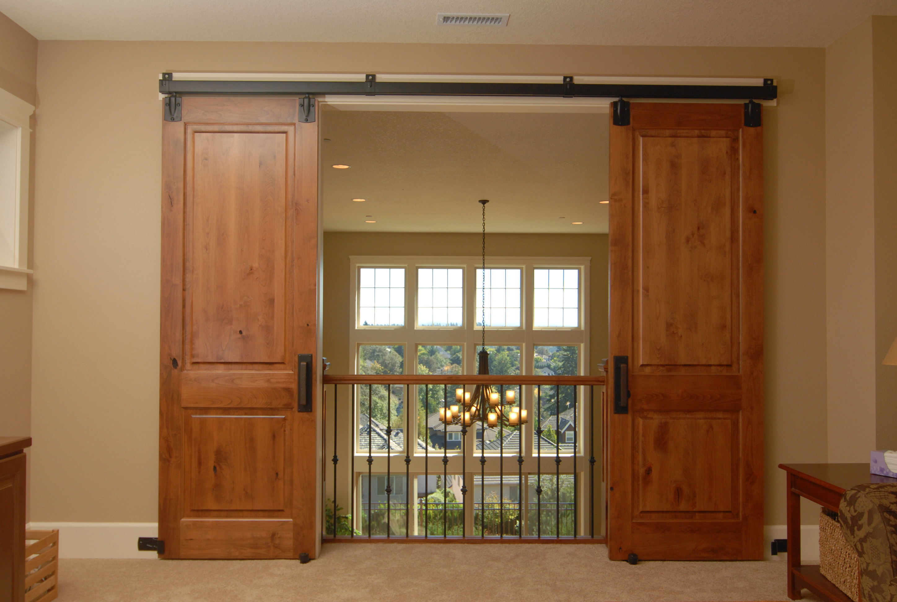 Dual Track Barn Door Hardware | Bypass Barn Doors | Bypass Barn Door Hardware
