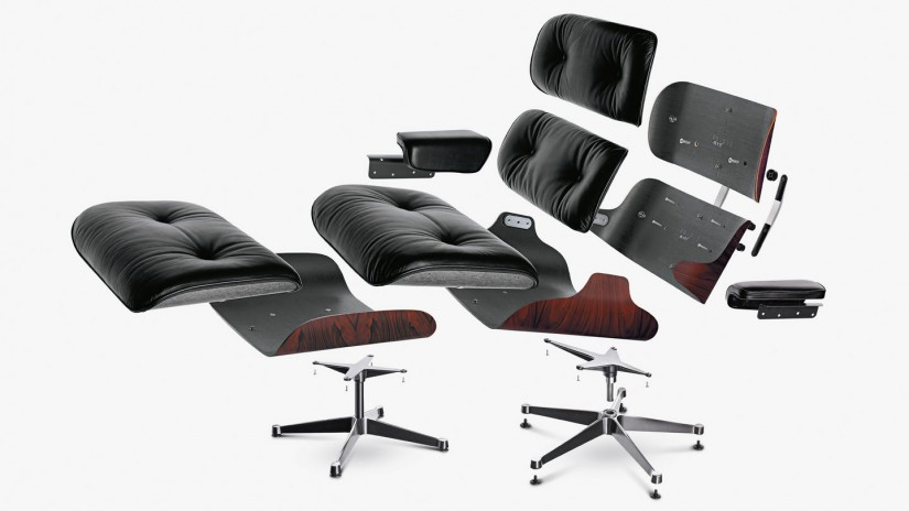 Eames Chair Herman Miller | Eames Lounge Chai | Eames Lounge Chair And Ottoman