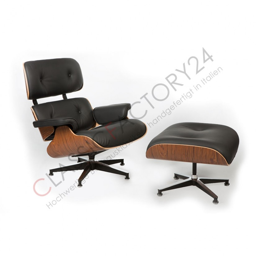 Eames Lounge Chair And Ottoman | Eames Lounge Chair And Ottoman Reproduction | Rosewood Eames Lounge Chair