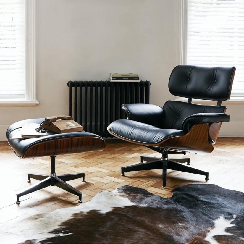 Eames Lounge Chair And Ottoman | Used Eames Lounge Chair And Ottoman | Eames Herman Miller Lounge Chair