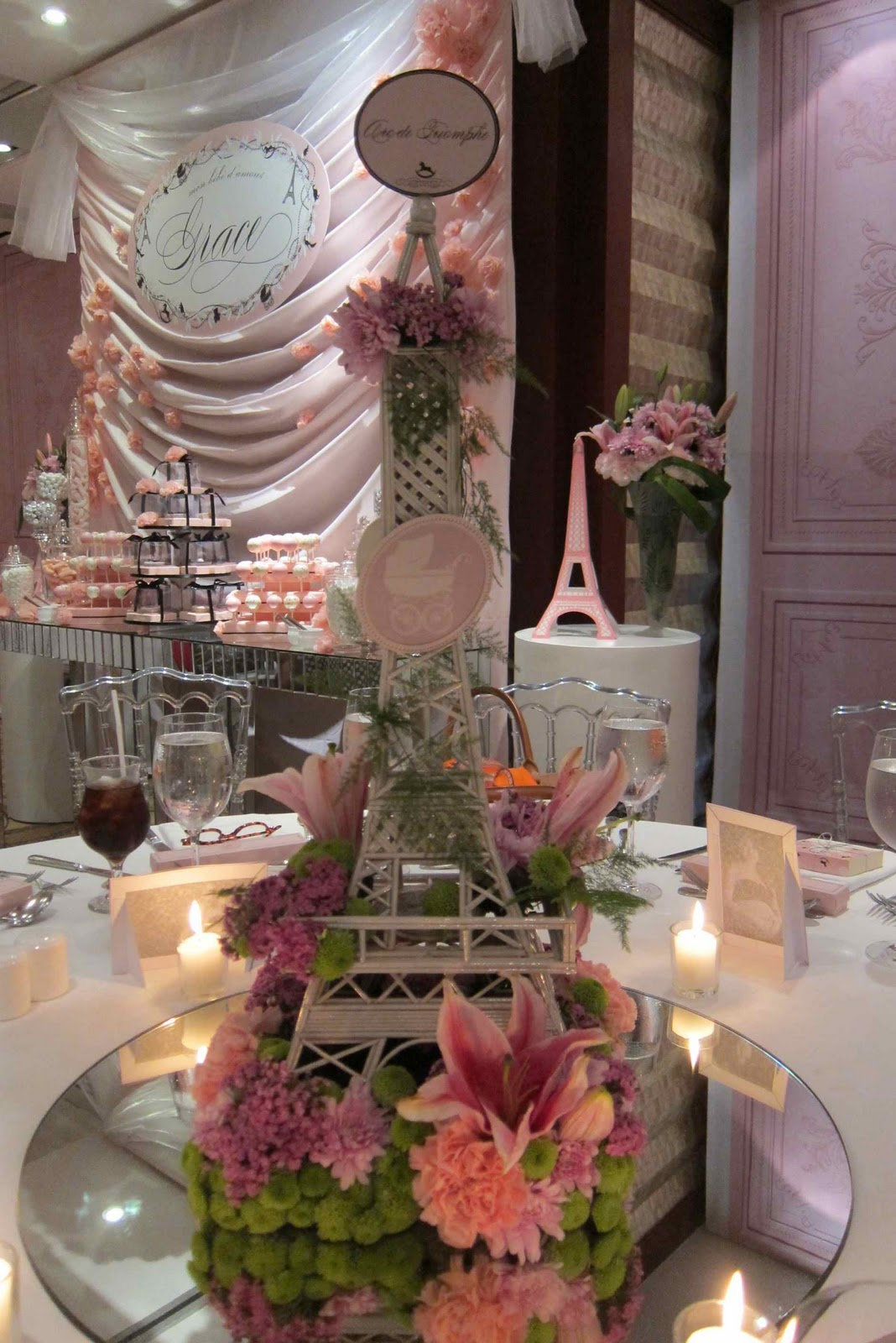 Eiffel Tower Centerpieces | Eiffel Tower Figurines Wholesale | Eiffel Tower Table Centerpieces