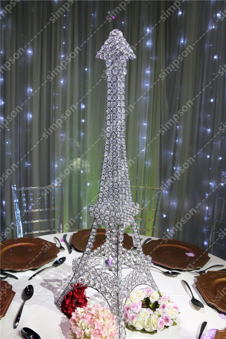Eiffel Tower Centerpieces | Eiffel Tower Vases Centerpieces and Decorations | Eiffel Tower Decorative Items