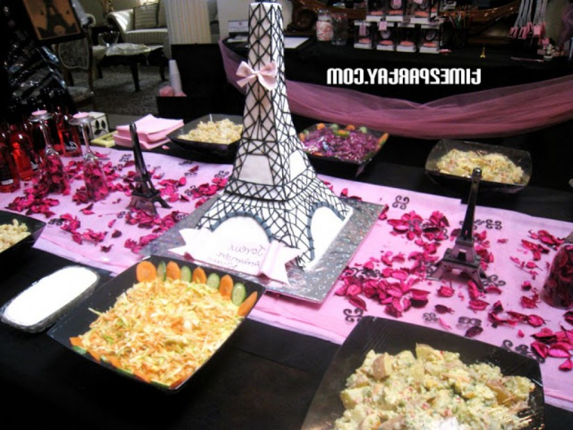 Eiffel Tower Centerpieces | Lighted Eiffel Tower Replica | Eiffel Tower Party Favors