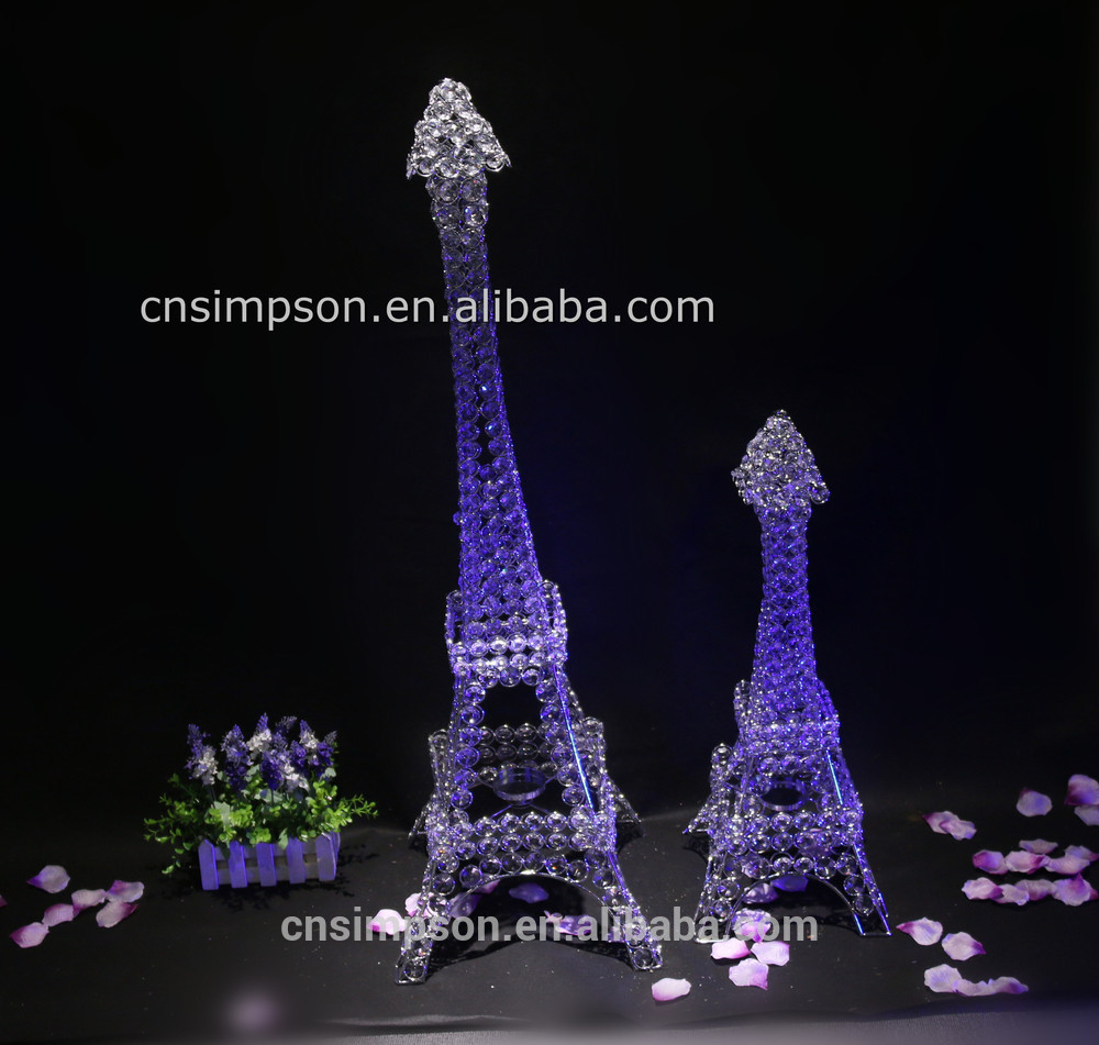 Eiffel Tower Favors Decorations | Eiffel Tower Centerpieces | Eiffel Tower Led Lights