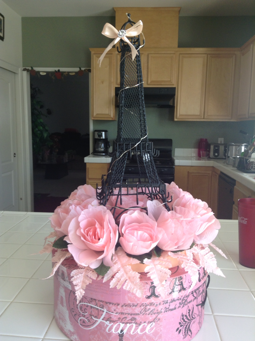 Eiffel Tower Favors Decorations | Paris Themed Sweet 16 Centerpieces | Eiffel Tower Centerpieces