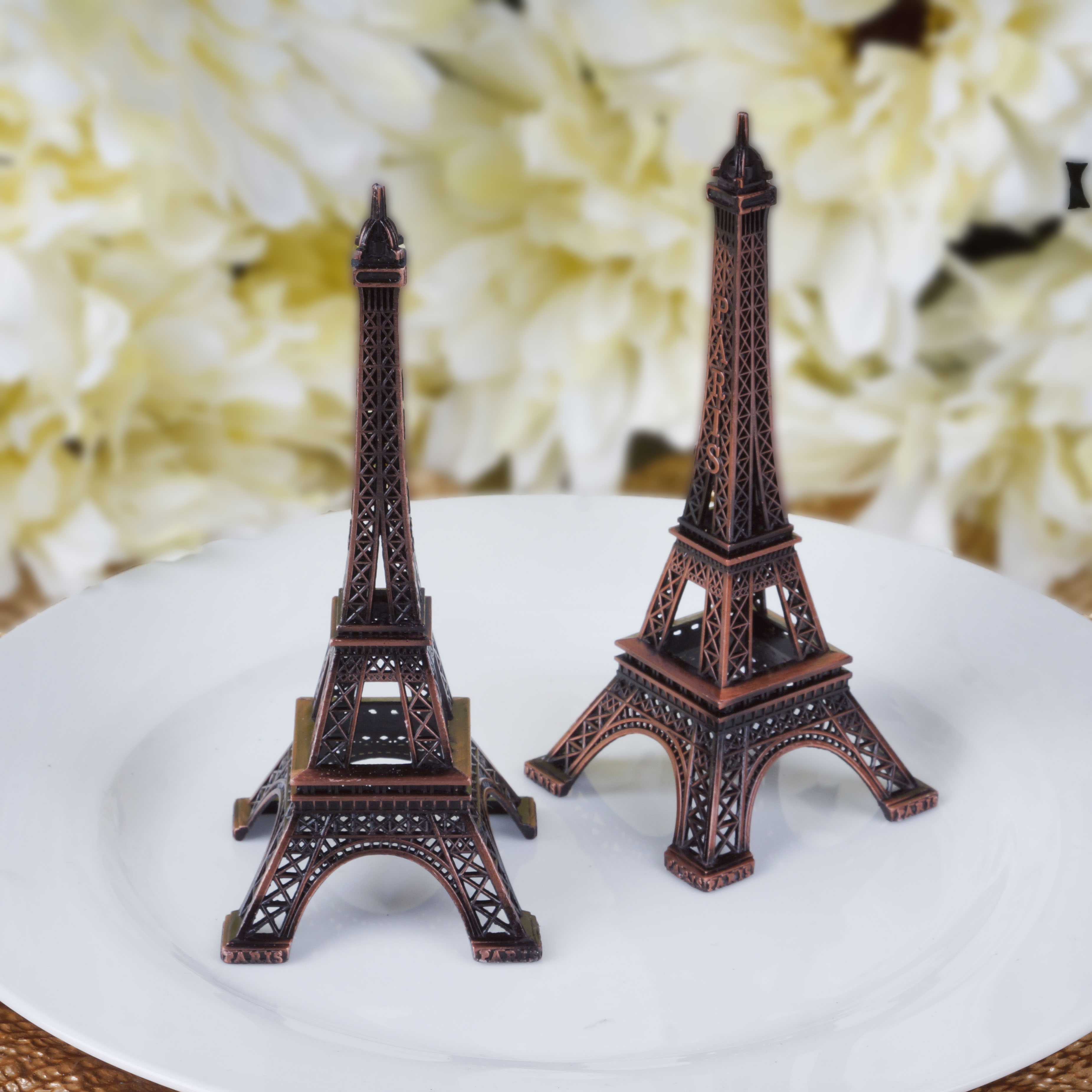 Eiffel Tower Statues for Sale | Eiffel Tower Centerpieces | Eiffel Tower Centerpieces for Quinceaneras