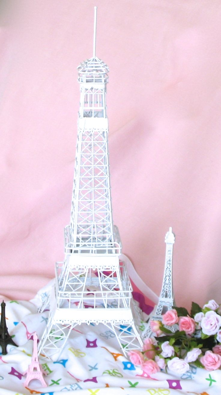 Eiffel Tower Vase Centerpieces | Eiffel Tower Figurines | Eiffel Tower Centerpieces