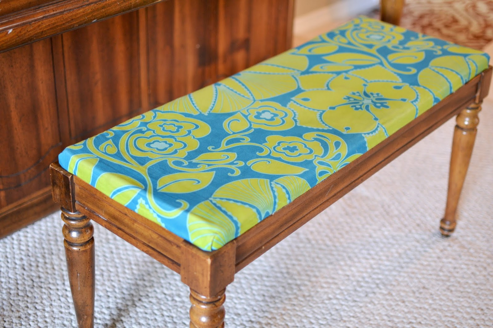Entryway Bench Cushion | Cushion for Garden Bench | Piano Bench Cushion