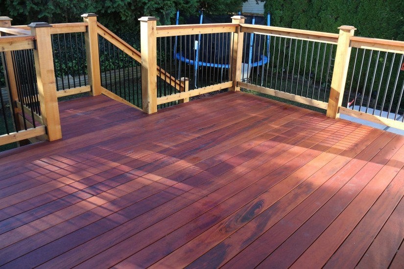 Fake Decking Timber | Synthetic Deck Boards | Tigerwood Decking