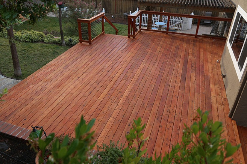 Fake Wood For Decks | Tigerwood Decking | Cedar Wood Decking
