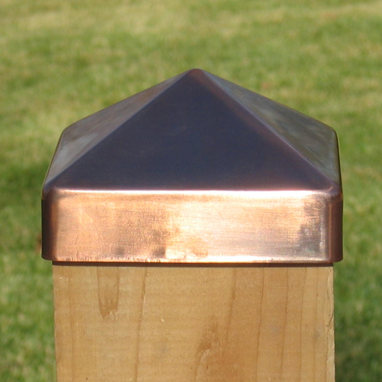 decorative fence post. Fence Post Solar Light Caps 6x6 | Decorative