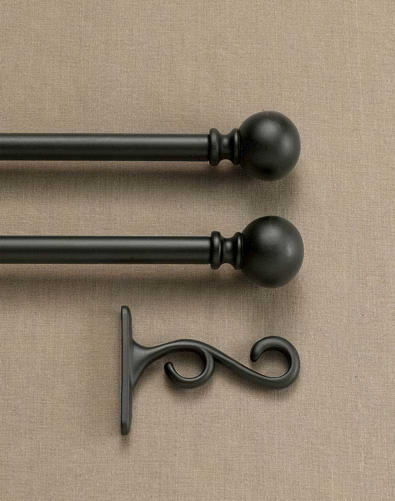 Finials for Curtain Rods | Wood Curtain Finials | Decorative Finials for Curtain Rods