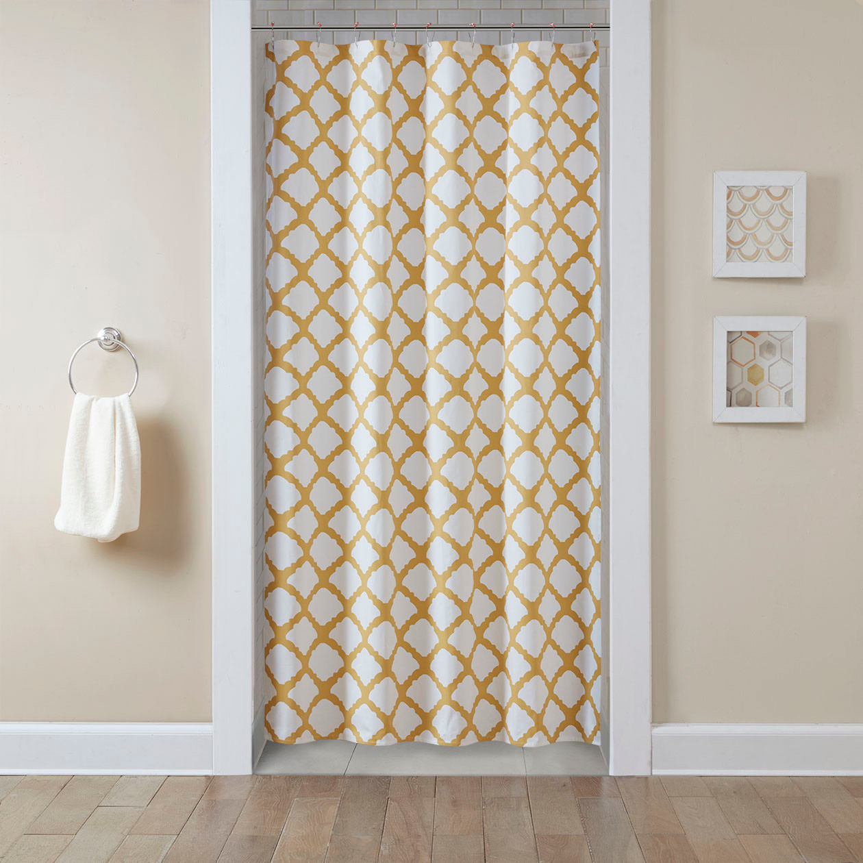 Floral Shower Curtain | Americana Shower Curtains | Whimsical Shower Curtains