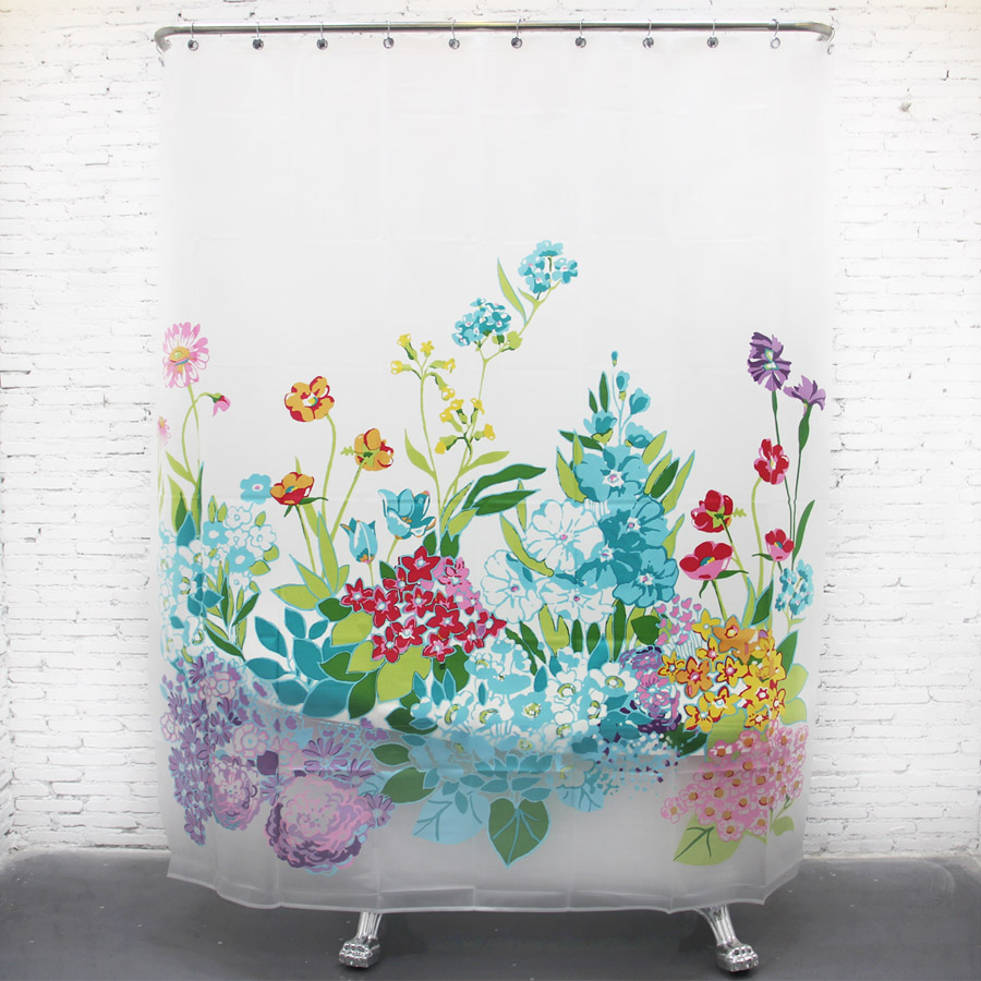 Floral Shower Curtain | Floral Shower Curtains | Shower Curtains India