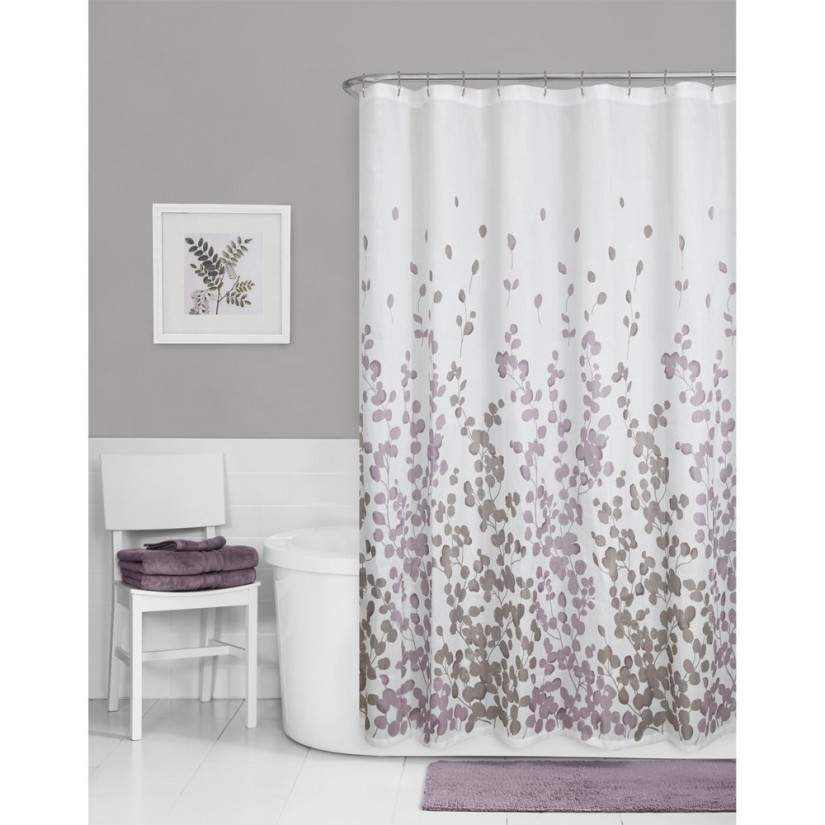 Floral Shower Curtain | Nature Shower Curtains | Coral Shower Curtain
