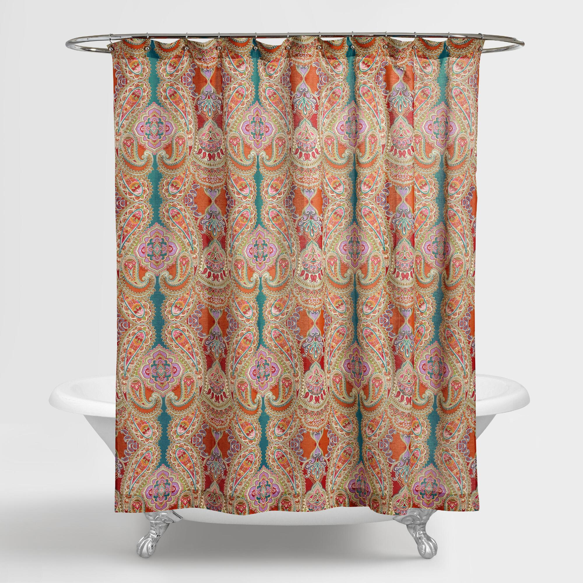 Flowered Shower Curtains | Floral Shower Curtain | Shower Curtain Bed Bath Beyond