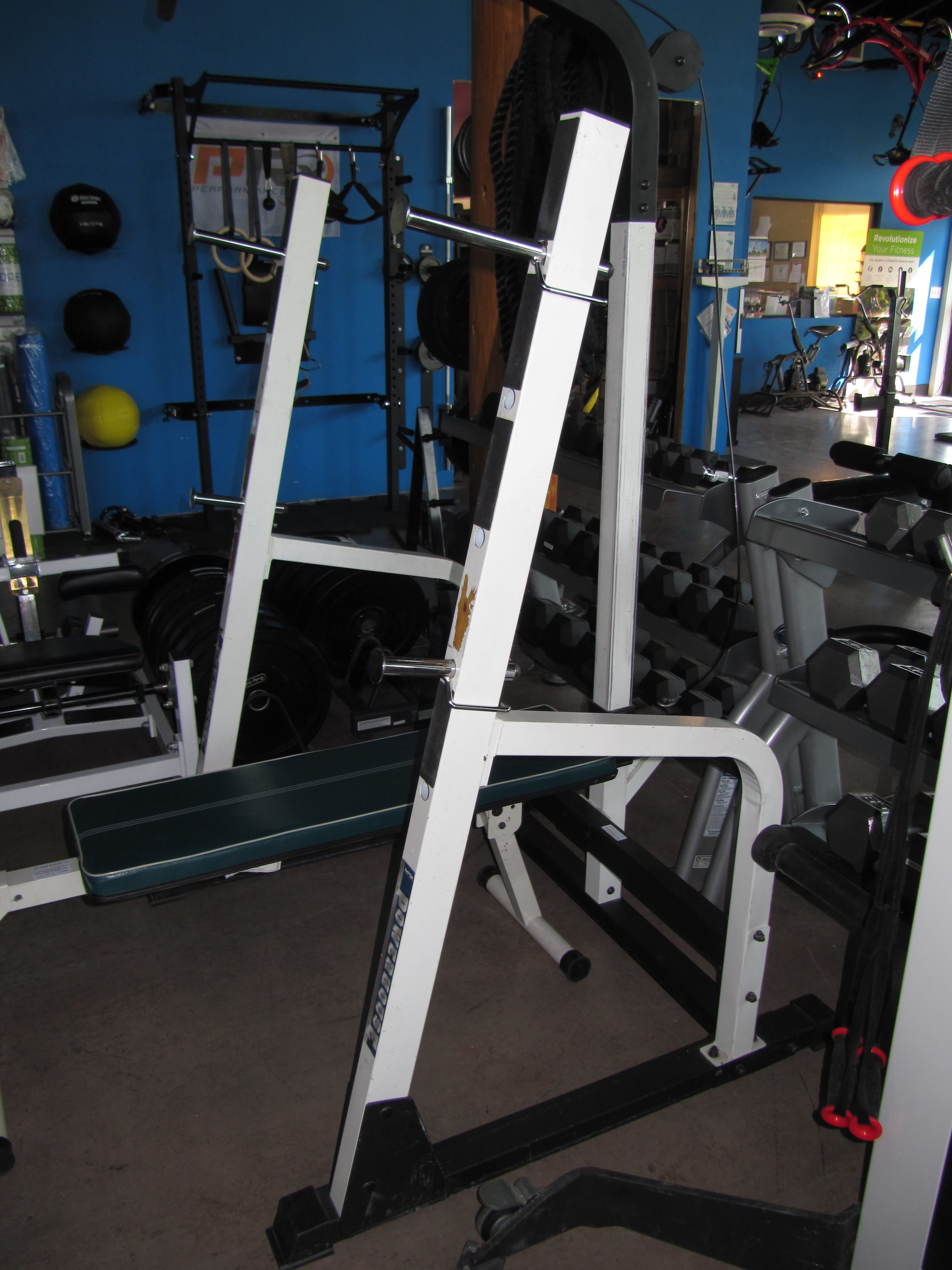 Folding Bench Press Weight Set | Bench Weight Set | Powerhouse Weight Bench