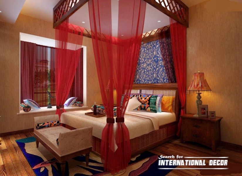 Four Poster Bed Canopy Curtains | Queen Canopy Bed With Curtains | Canopy Bed Curtains