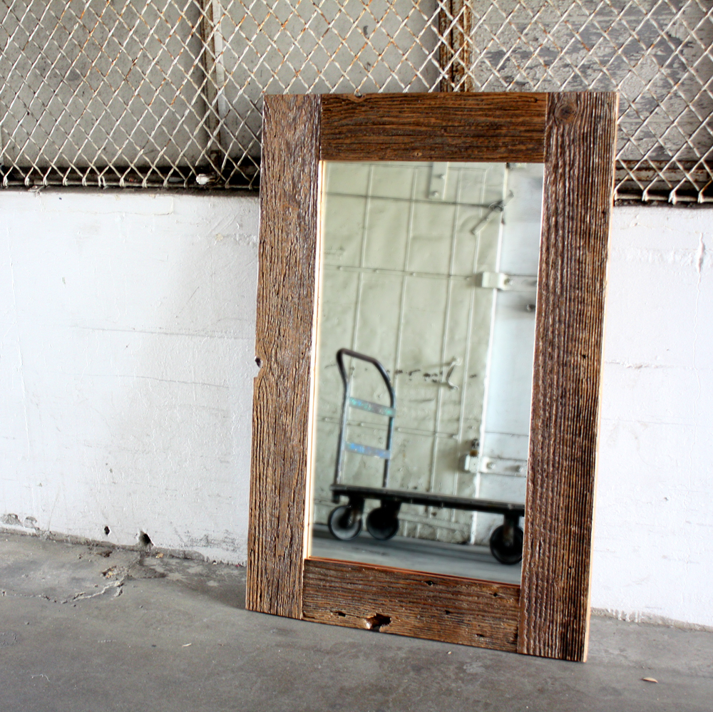 Framed Mirrors at Kirklands | Reclaimed Wood Mirror | Mirror Costco