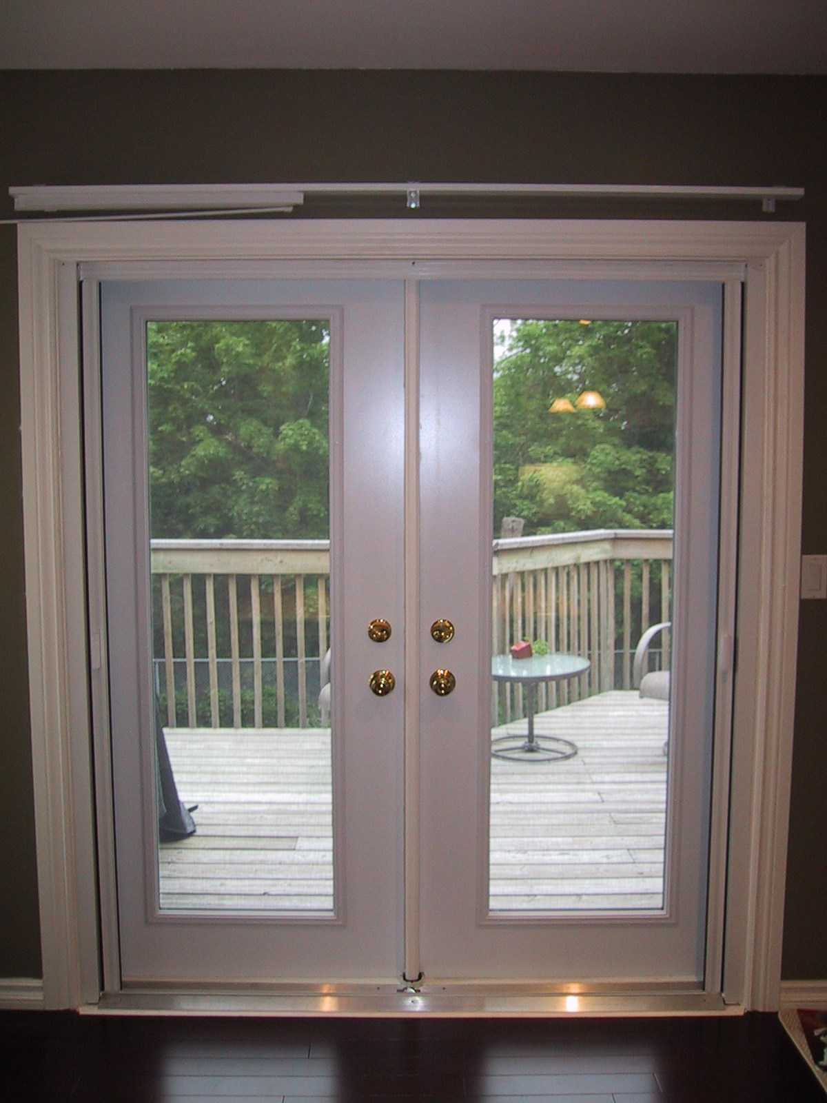 Ideas Double Pane French Doors Lowes Patio Doors